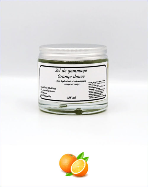 Sel de gommage Orange douce