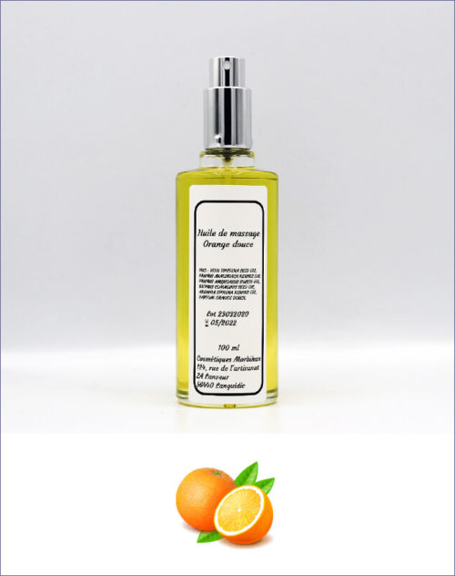 Huile de massage Orange douce